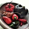 Various chilies for pulled pork bbq chili con carne