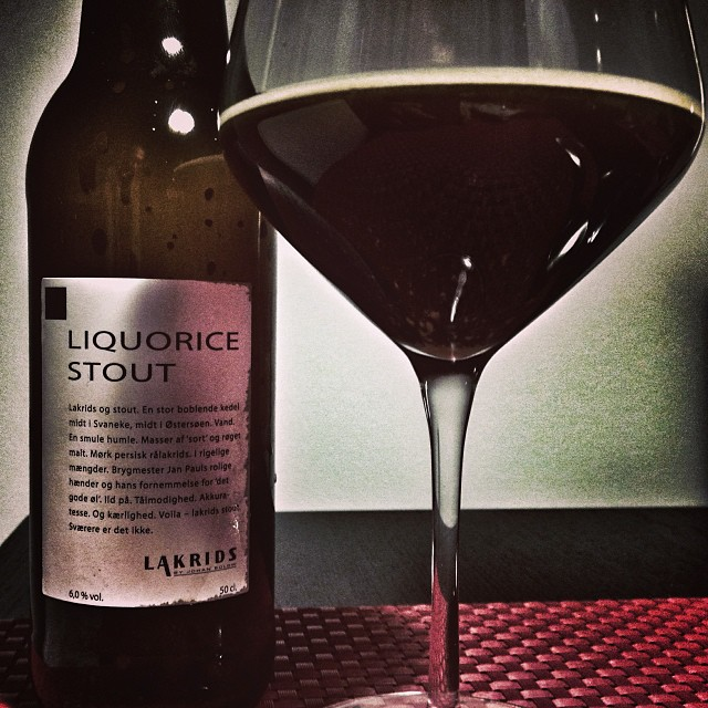 licorice stout
