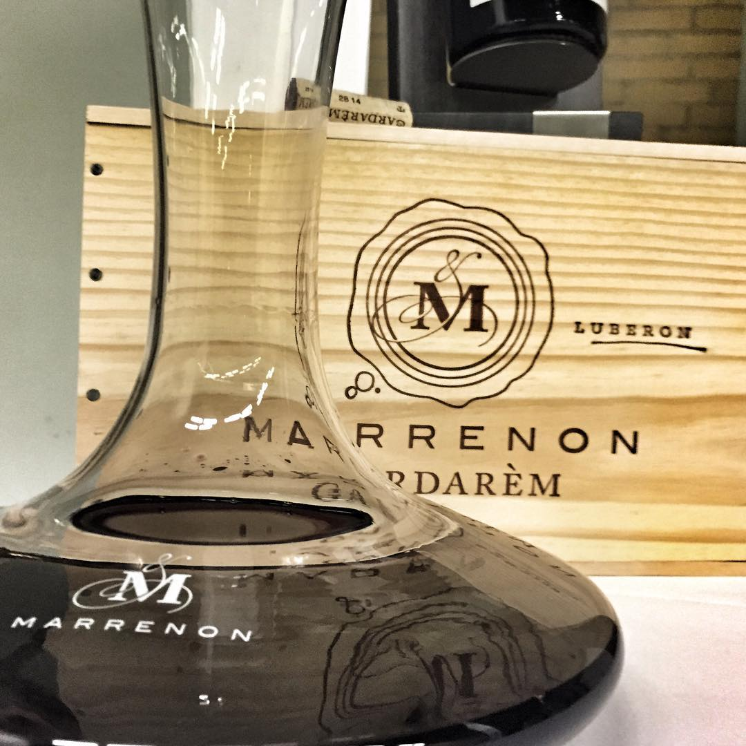 Marrenon wines and cases