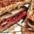 Louis Lunch Burger