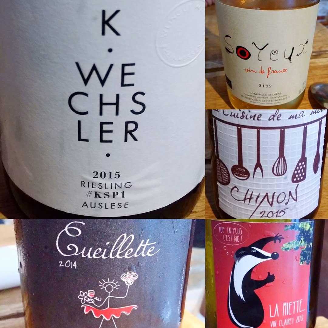 Wines at Substans