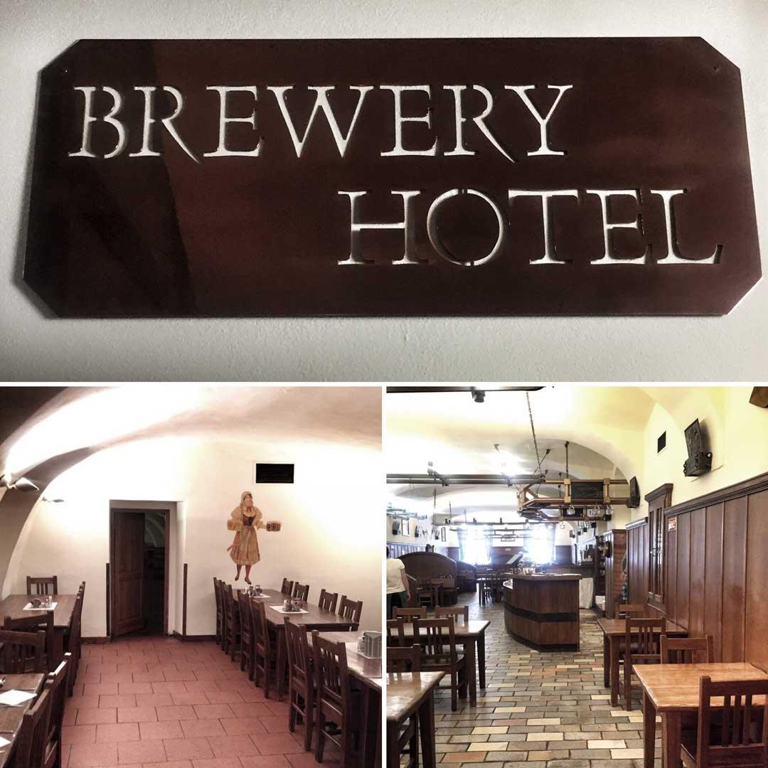 U Medvidku Brewery Hotel
