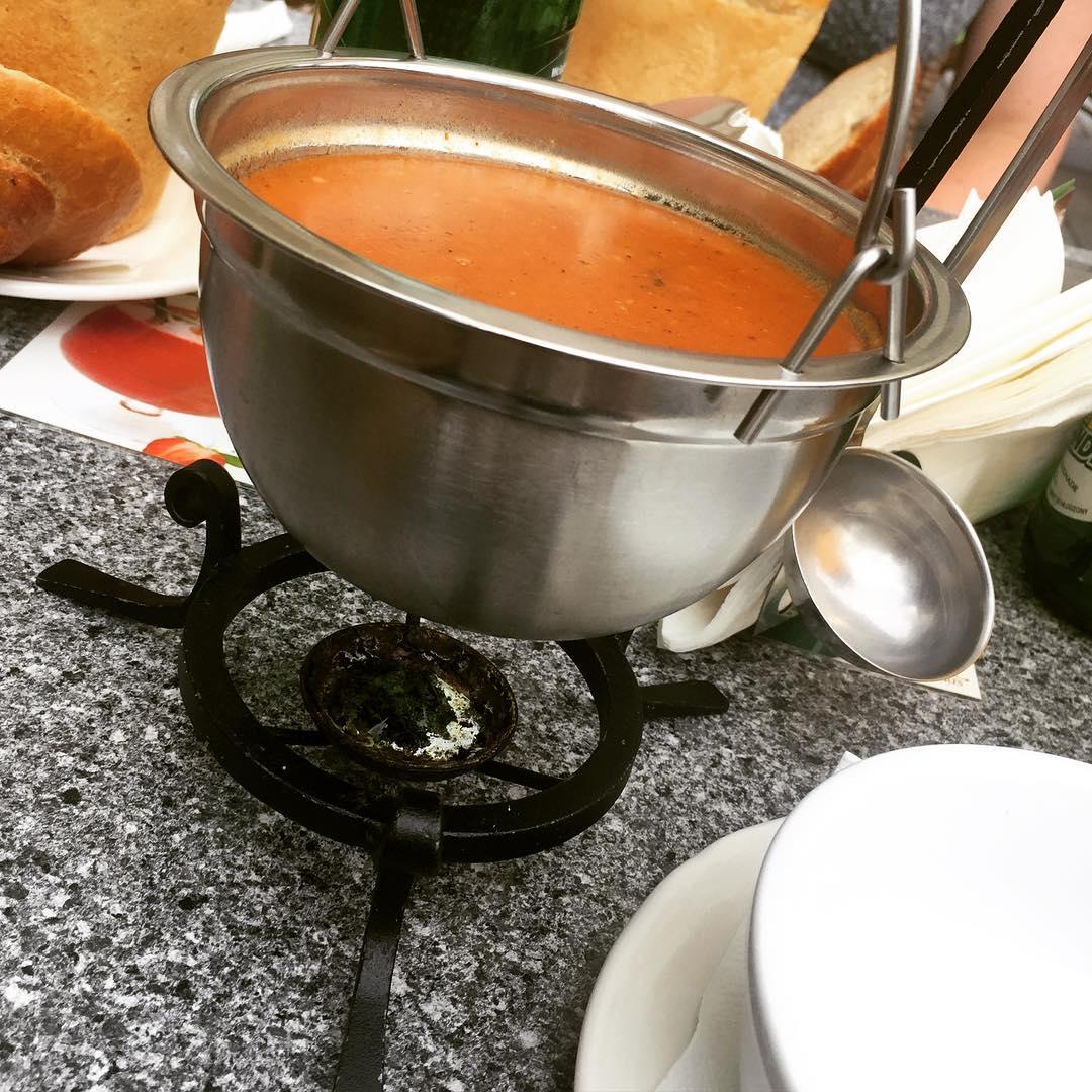 Goulash soup Poland