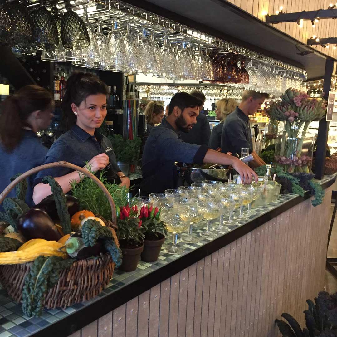 foodie bar at Aarhus Central Food Market