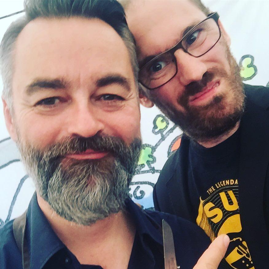 Chili Klaus and The Johan at Food Festival
