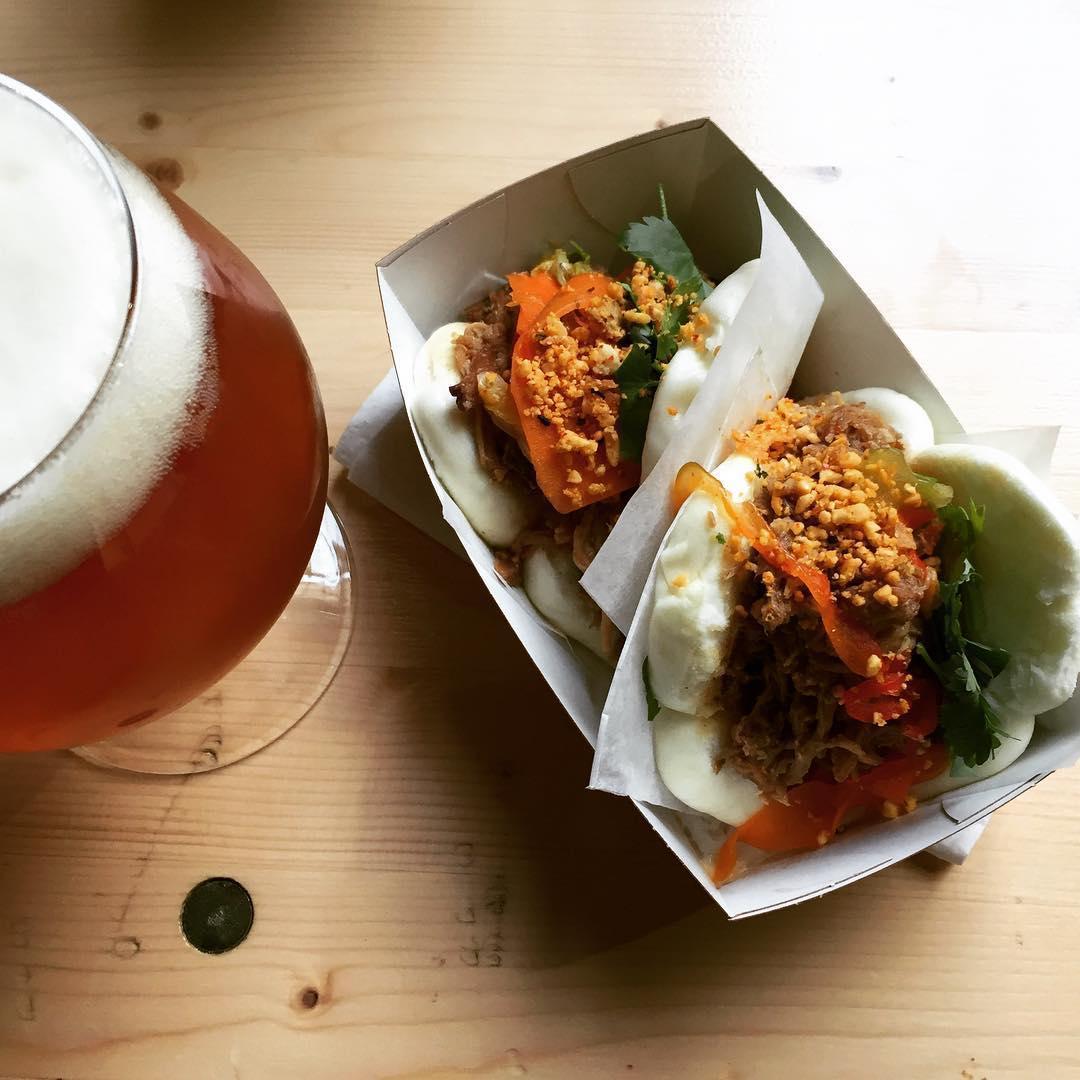 Pork Bao and a beer - Aarhus Street Food