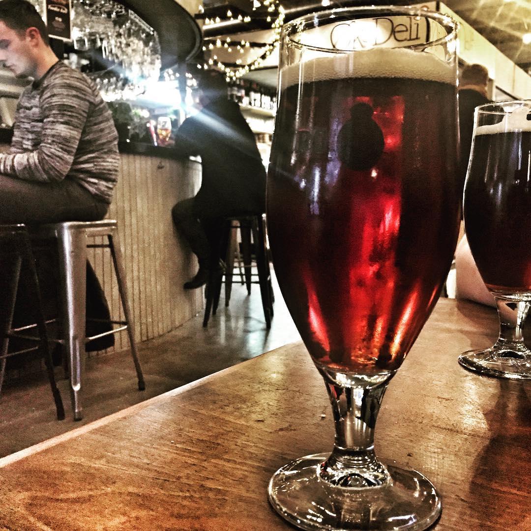 Beer at Foodie Bar - Aarhus Central Food Market