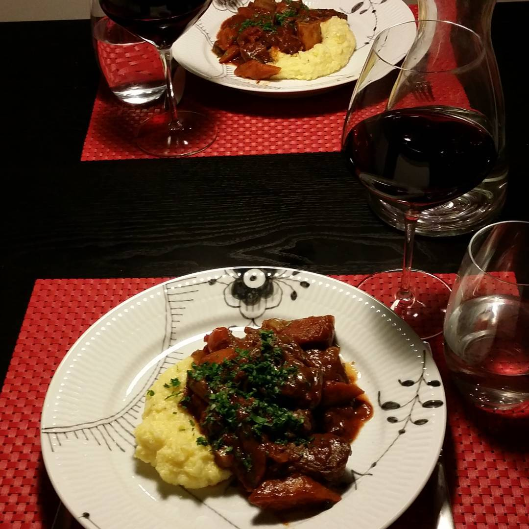 Ready to eat osso buco