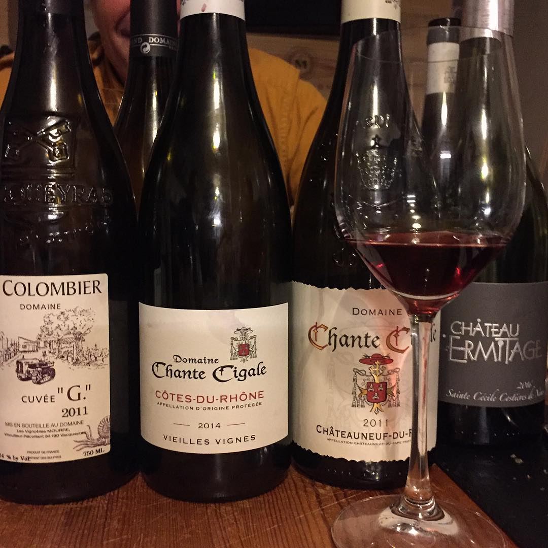 red rhone wines