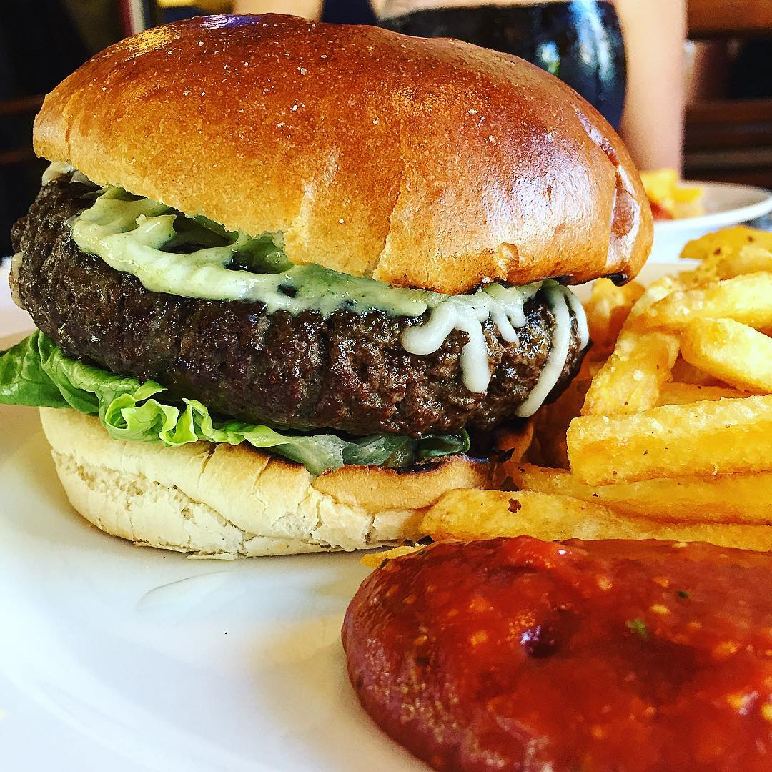 Cafe Burger at Den Blå Kolding