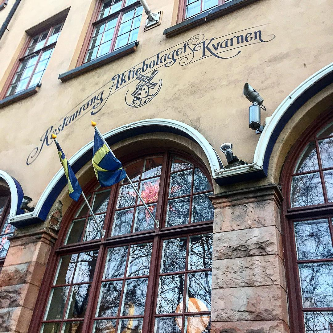 Restaurang Kvarnen in Stockholm
